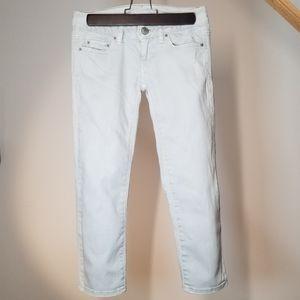 AEO Distressed Jeans 3/4 Crop Lightwash
